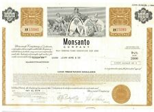 Monsanto Company  1978   1000$ Bond