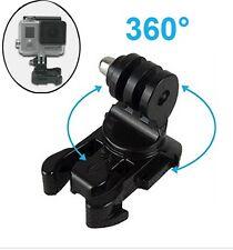 GoPro Hero universal 360° grad drehbar Halterung Aufnahme Adapter rundum Clip 1