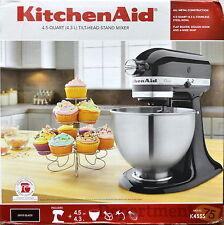 Kitchen Aid Onyx Black 4.5Qt Tilt-Head Stand Mixer (K45SS)