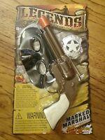 NEW Legends Wild West MASKED MARSHALL Indian Head Grip Cap Gun Toy
