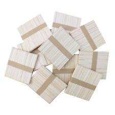 300 pz bastoncini di legno naturale in ghiacciolo, bastoncino di ghiacciolo N6T0