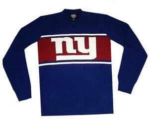 Nfl Mens Apparel * New York Giants Mens Nfl Pullover Team Sweater, nwt,LARGE