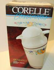 Vintage Corelle Coordinates 1 Quart Pitcher Abundance Thermal Beverage Server