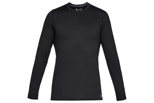 Under Armour Coldgear Fitted Crew  Tops