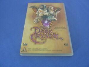 The Dark Crystal DVD Jim Henson Region 4 Includes Booklet FREE POST