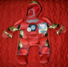 Marvel Iron Man Pet Fans Collection Illusion Dog Suit Costume - Light Up XS-XXL