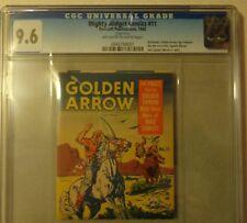 CGC 9.6 Mighty Midget Comics 11 Golden Arrow Fawcett 1942 WWII Captain Marvel