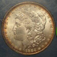 1884-O Morgan Dollar, Choice Uncirculated, Old Bank Hoard Packaging 1114-02