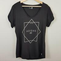 ADIDAS Climalite | Womens Training 49 T-Shirt Top [ Size M or AU 12 / US 8 ]