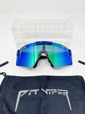 PIT VIPER Polarized Sunglasses Sport Cycling Goggles UV400 Unisex Eyewear