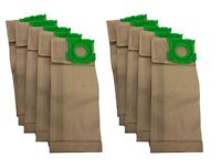 10 x Paper Dust Bags for SEBO K1 K2 K3 Series Vacuum Cleaner Cylinder Hoover