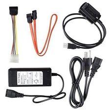USB 2.0 to IDE SATA S-ATA 2.5 3.5 Hard Drive HD HDD Converter Adapter Cable -New