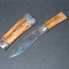 Spirit Knife Khun Paen Lp Tim Knifes bone handle, shaman Ritual weapon Ancient