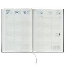 Stylex Buchkalender Wochenplaner 2019 vertikal Wochenkalender A5+ Schwarz