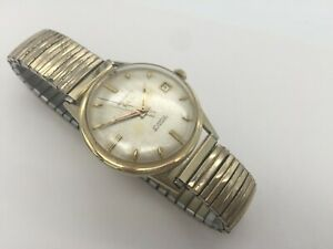 Men's Vintage 1960s 39 Jewel Benrus Automatic Date Watch - 14k Solid Gold