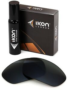 Polarized IKON Replacement Lenses For Oakley Minute 2.0 Sunglasses Black