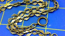 Fancy Watch Chain Antique Victorian Gold Filled