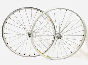 "Mavic 501 Bicycle Wheelset 28 Hole 26"" Vintage MTB Mavic 117 Rims"