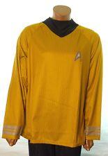 STAR TREK Classic COSTUME Uniform Men's Movie Shirt Captain Kirk Spock Large