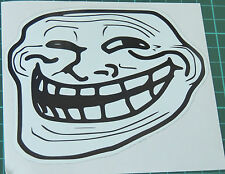 Troll Face Stickers Decals 5x5cm Meme Coolface Problem? Feels 4chan trollface
