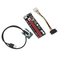 Mini PCI express x1 to x16 slot adapter riser for PCIe Graphics