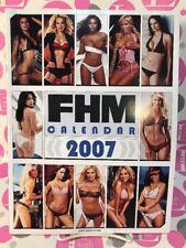 FHM 2007 CALENDAR:Jeri Ryan,Jenny McCarthy,Tori Wilson,Morgan Webb,JANET JACKSON