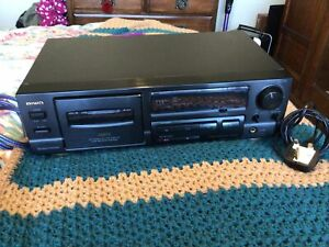 AIWA AD-F450 CASSETTE TAPE DECK TESTED AND WORKING NEW BELTS FITTED
