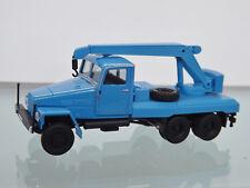 Herpa 308106 - 1:87 - IFA g5 kranfahrzeug, azul-nuevo en caja original