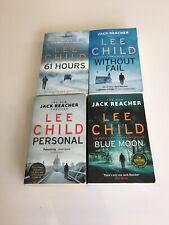 Lee Child Jack Reacher 4 x  books bundle. good read condition paperbacks