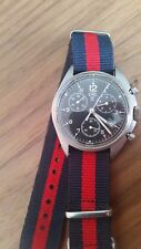 USED CWC AIR FORCE BAF MILITARY ISSUE PILOTS CHRONOGRAPH