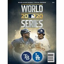 Tampa Bay Rays vs. Los Angeles Dodgers 2020 World Series Matchup Program