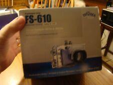 Fantasea Fs-610 Underwater Camera Housing NEW IN BOX FAST SHIP