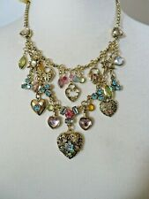 COOKIE HEART CHARM NECKLACE NWT #1 16-19""