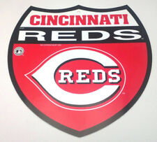 Cincinnati Reds Plastic Interstate Sign