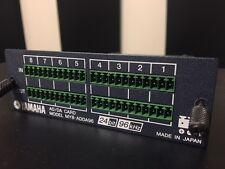 Yamaha MY8-ADDA96 - Analog I/O Card :  02R96 01V96 LS9 DM1000 DM2000 AW2816 AW2