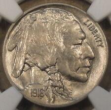 1916 Buffalo Nickel 5c NGC Certified MS62 Looks Better