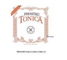 PIRASTRO Tonica Cordiera per Violino 4/4 MUTA DI CORDE con PALLINO