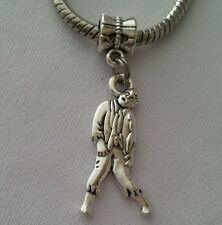 Walking Dead Zombie Inspiration Dangle Bead for European Style Charm Bracelet