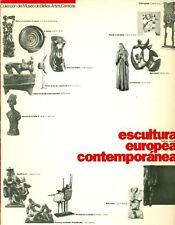 MUSEO DE BELLAS ARTES Caracas. Escultura europea contemporanea Catalogo razonad