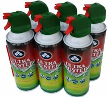 ULTRA Duster Spray Cleaner Air Can Laptop Desktop PC Keyboard 6 Pack Set 10Oz