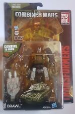 Transformers generations combiner wars BRAWL deluxe figure with comic [NEW] RARE