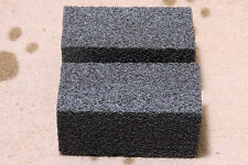 Dog Cat Horse Pet Grooming Tool Supplies Coarse Pumice Stone Lot (2) New Sale