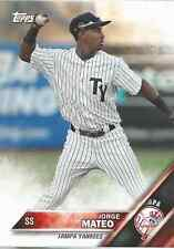 Jorge Mateo 2016 Topps Pro Debut RC rookie card 39