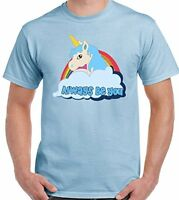 Central Intelligence - Unicorn -The Rock  Dwayne Johnson Mens Funny T-Shirt