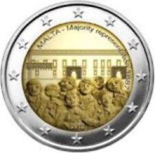 PIECE  2€  MALTE  2012  COMMEMORATIVE  MAJORITE  AU  CONSEIL  DES  REPRESENTANTS
