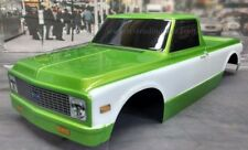 Custom Painted Body 1972 Chevy C10 For 1/10-1/8 RC Monster Trucks T/E-Maxx/Revo