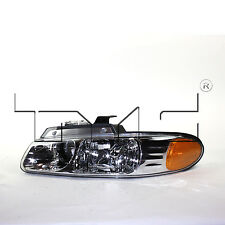 TYC 20-5242-00 1996-1999 Driver Side Left Headlight Assembly Caravan Voyager T&C