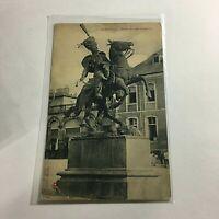 Vintage Postcard Luneville Statue du general Lasalle   R1