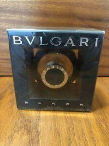 NIB BVLGARI BLACK VINTAGE MARCH 2015 EAU DE TOILETTE SPRAY UNISEX 2.5oz 75ml