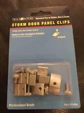 New York Wire 8-Piece Storm Door Panel Clips 71454 New!!!